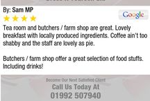 Reviews / Some reviews from our lovely customers
