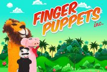 More Finger Puppets / FINGER PUPPETS!!!!!!!