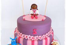 Idéer till Emilias kalas / Idéer för tårtor, annat gott, dekorationer och pyssel! :)