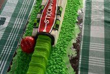 cricket 11th birthday cake