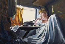 Schilderijen over vrouwen