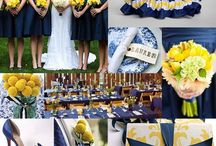 :: Blue & Yellow Wedding :: / Having a blue and yellow themed wedding? This board is for you.