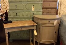 Cece Caldwell's Natural Chalk & Clay Paints / Professionally refinished furniture using Cece Caldwell's Paints