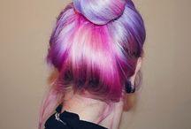 Colourfull hair