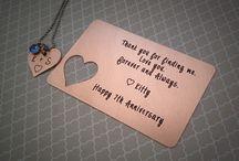 Anniversaries + gifts 4 HIM