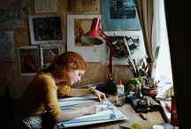 artists and their spaces