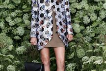 Mulberry RTW Spring 2015 / A collection full of garden flowers from Mulberry on #LFW