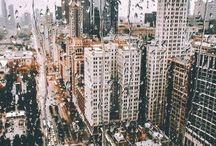 City on photos