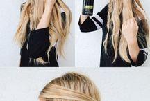Cabello peinados
