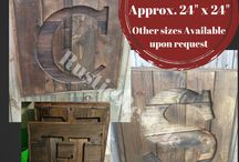Rustic Restyle / Reclaimed wood, recycled pallet art, gallery wall ideas and home decor by Laura and Matt Sanchez
