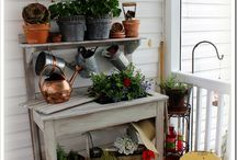 Potting Benches..