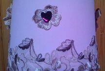 Paralume romantico ... / paralume rosa ...