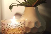 Moroccan Candles / Moroccan Candles - Holiday at home with the scent of Morocco