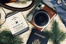 Wan·der·lust / ˈwändərˌləst/  noun a strong desire to travel.
