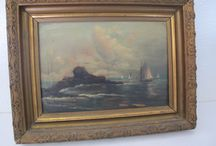 Fine Art: Paintings, Prints, Photographs, etc. - Anne Tweekes / We have a nice collection of visual art, the majority signed and/or dated from early English botanicals to modern American art.