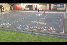 playground markings videos
