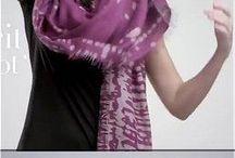 sjaals knopen