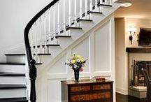 TRAPPE inspiration / Inspiration til indretningsdetaljer og trapper til når du bygger nyt med NORDHUSE.