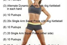 Kettle bell fitness! / by Christy Wilkinson