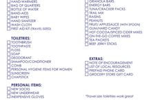 Homeless Blessing Bags / Everyone deserves a little help! / by Tasha Theoc