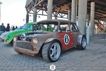 Машины в стиле rat rod