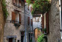 Ódon részlet egy Olasz üdülő helyről / Kellemes pihenő es vissza tekintő hely