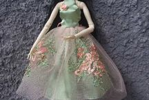 Green Lace Dress for Resin Enchanteddoll