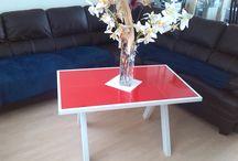 Ontwerpen / Zelf ontworpen meubels