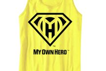 My Own Hero clothing line