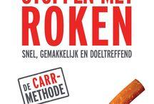 """Boeken over """"Stoppen met roken"""" / Nuttige boeken die je kunnen helpen om te stoppen met roken. Geen voornemens, maar daden!"""