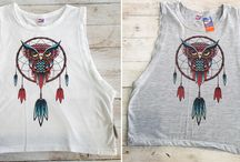 Owl tops / Who doesn't love owls? We have a selection of owl tops available in stores now.