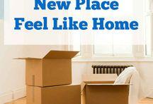 New home / by Amanda Blake
