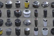 3d kitbash examples