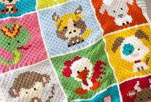 Crochet c2c gragh patterns
