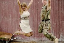 Camo Wedding / Redneck and camo!!! / by Kelly Sanders