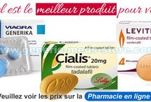 Viagra, Cialis, Levitra etc. contre dysfonctions érectiles