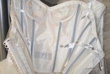 Construction of wedding dresses