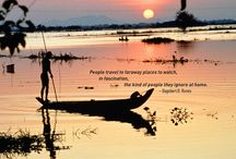 Travel Quotes / Wise, beautiful and inspirational words about travel.