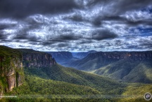 Blue Mountains / The Blue Mountains are roughly 1.5 hrs west of Sydney in Australia