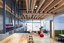Espacios de trabajo / Lugares para trabajar, oficinas.