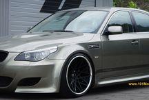 Custom BMW 5 Series (E60 5th Gen) Modified