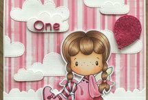 CC DESIGNS - Handmade cute girly cards