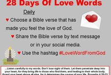 28 Days of Love Words From God