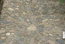 kamienne ścieżki / posadzki