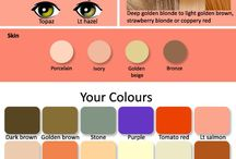 warm spring colour palette