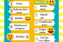 Kids and school social media netiquette / Education netiquette