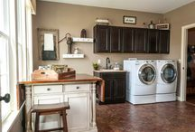 Basements and Laundry rooms  / by Amber