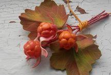 цветы ягоды