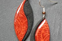 Polymer clay earrings / Great inspiration for creating polymer clay earrings