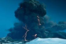La Nature dans tous ses états / Orages, tempêtes, avalanches, volcans,...